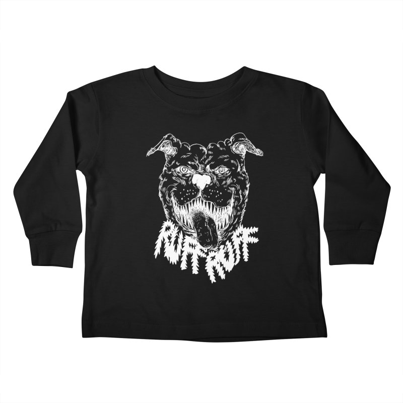 Ruff Doggie Kids Toddler Longsleeve T-Shirt by anabenaroya's Artist Shop