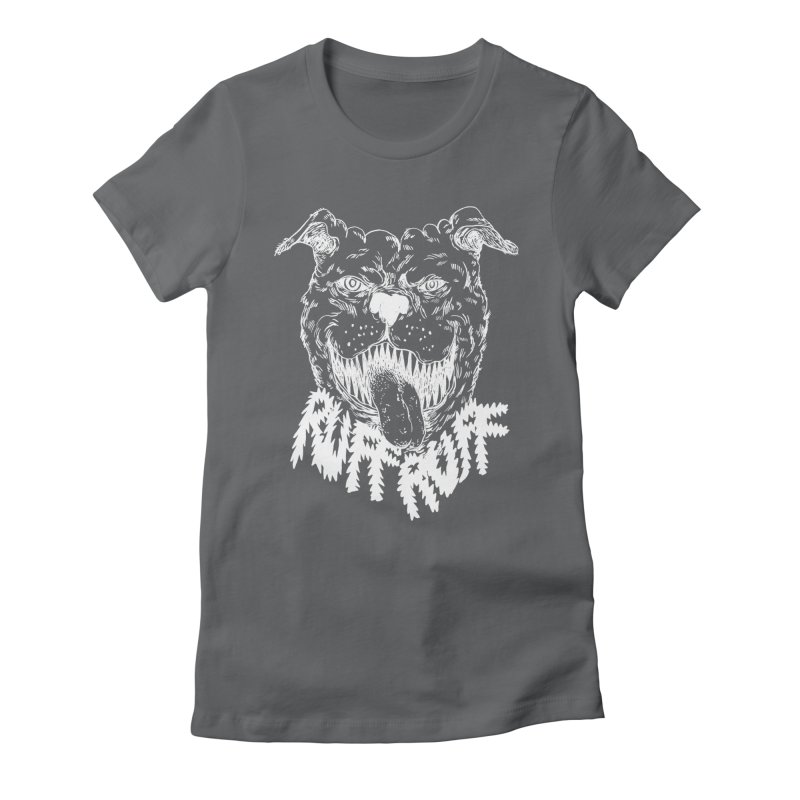 Ruff Doggie Women's Fitted T-Shirt by anabenaroya's Artist Shop
