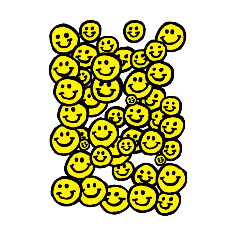 Smiley Overload by anabenaroya's Artist Shop