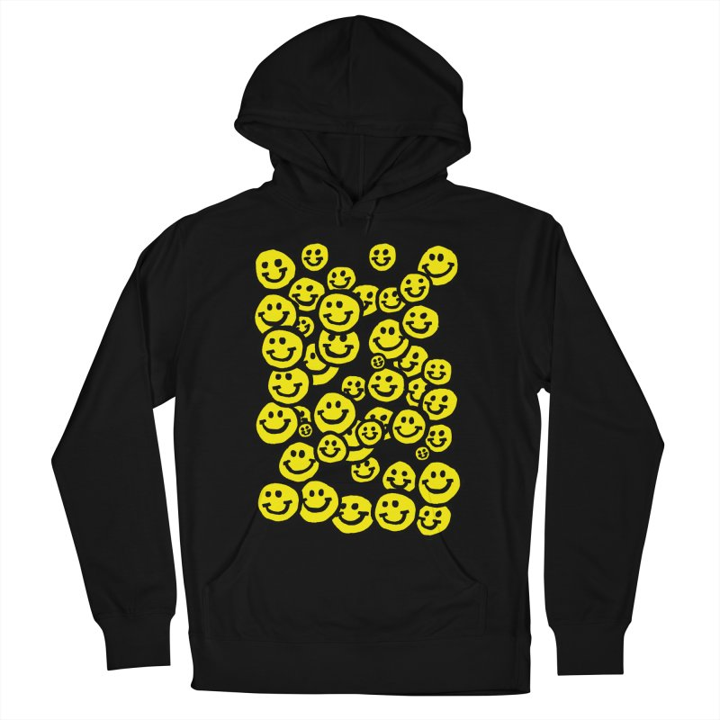 Smiley Overload Men's Pullover Hoody by anabenaroya's Artist Shop