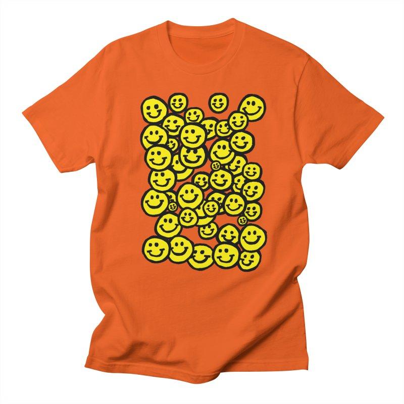 Smiley Overload Men's T-Shirt by anabenaroya's Artist Shop