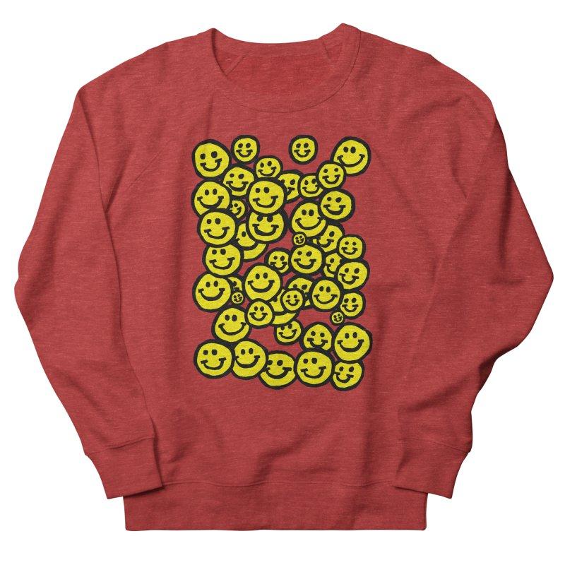 Smiley Overload Men's Sweatshirt by anabenaroya's Artist Shop