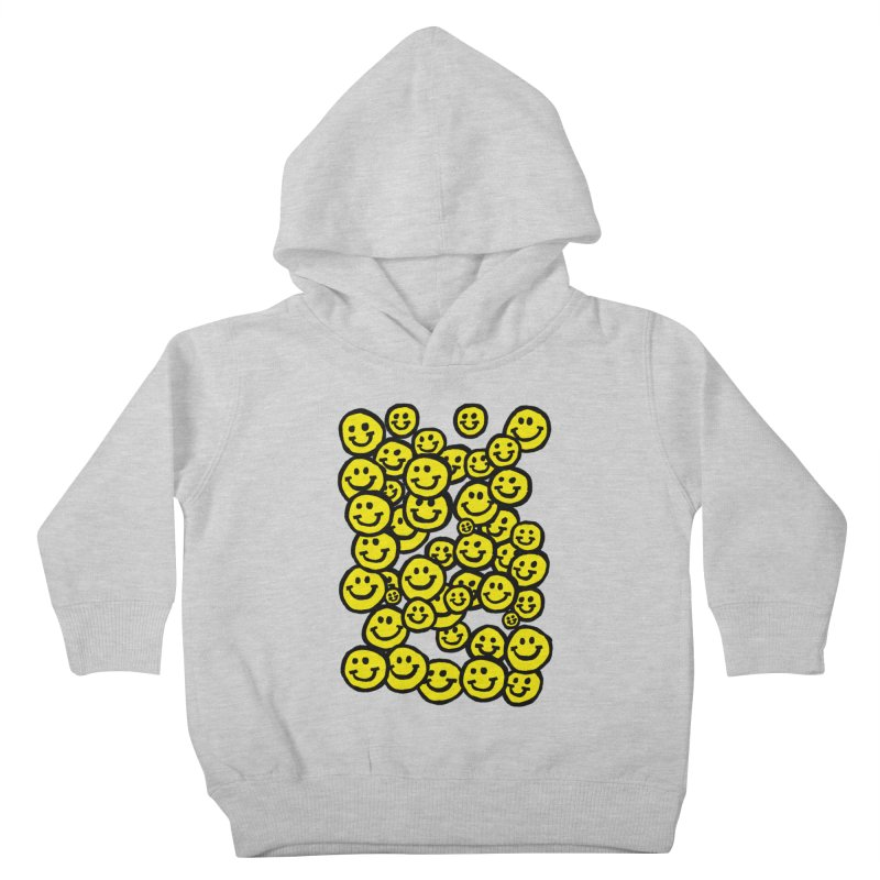 Smiley Overload Kids Toddler Pullover Hoody by anabenaroya's Artist Shop