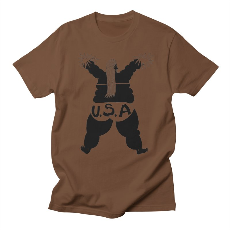 American Cheerleader Men's T-shirt by anabenaroya's Artist Shop
