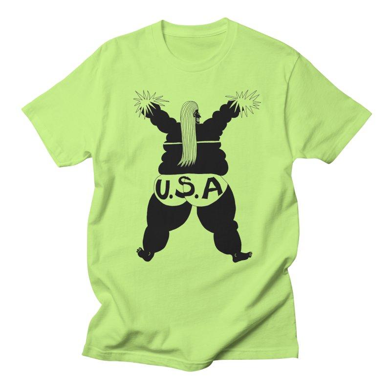 American Cheerleader Men's T-Shirt by anabenaroya's Artist Shop