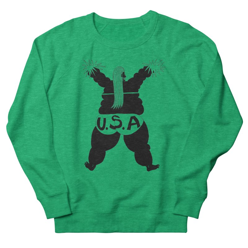 American Cheerleader Women's Sweatshirt by anabenaroya's Artist Shop