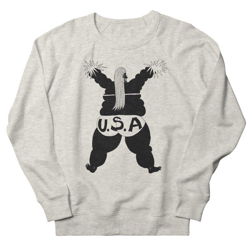 American Cheerleader Men's Sweatshirt by anabenaroya's Artist Shop