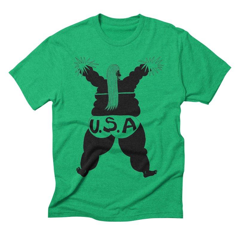 American Cheerleader Men's Triblend T-shirt by anabenaroya's Artist Shop