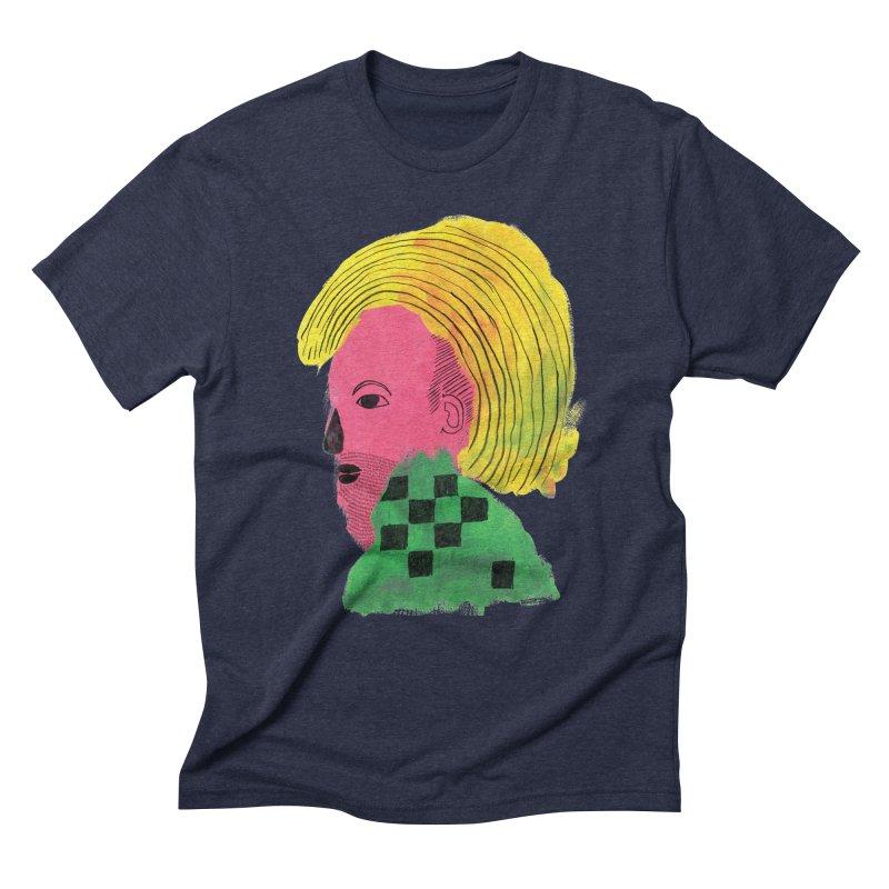 Blonde Ambition Men's Triblend T-Shirt by anabenaroya's Artist Shop