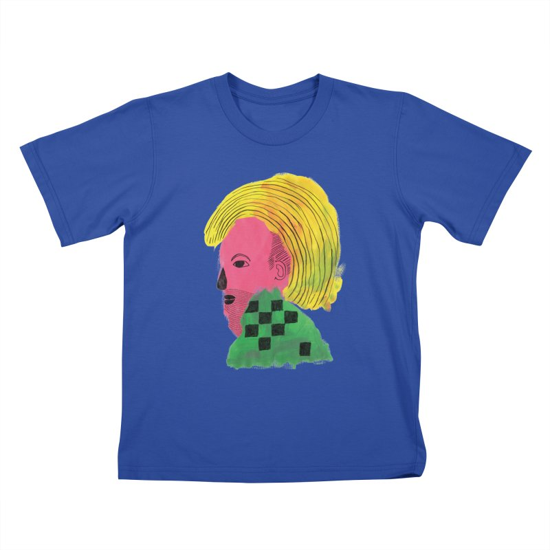 Blonde Ambition Kids T-shirt by anabenaroya's Artist Shop