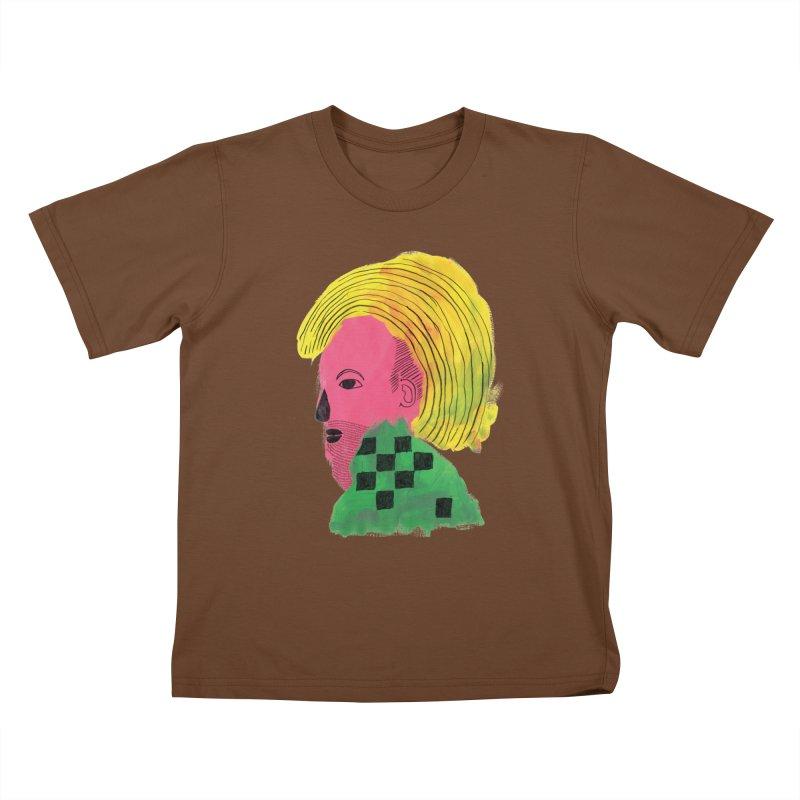 Blonde Ambition Kids T-shirt by anabenaroya's Artist Shop