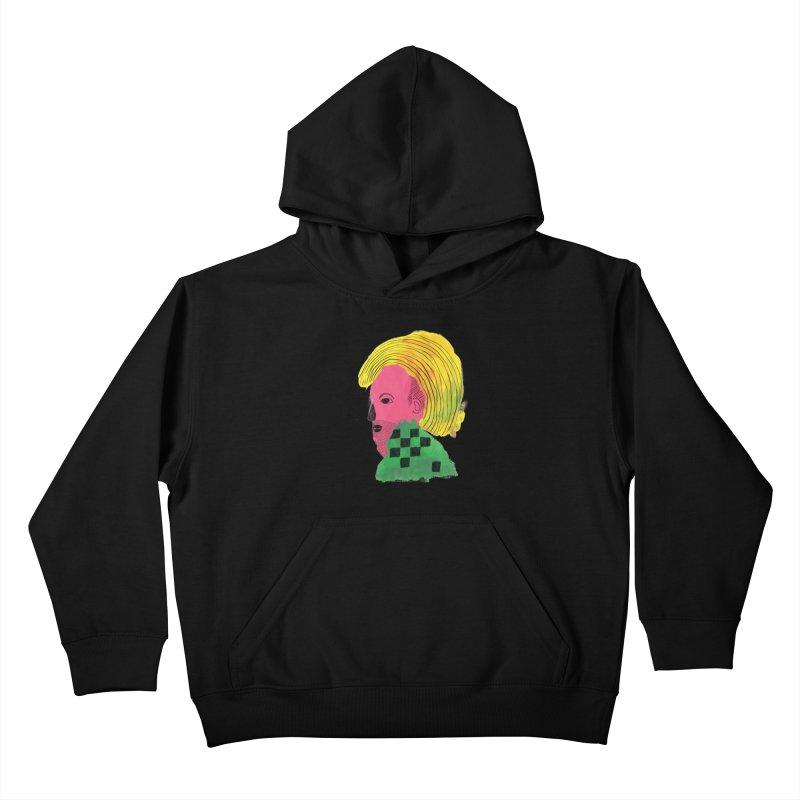 Blonde Ambition Kids Pullover Hoody by anabenaroya's Artist Shop