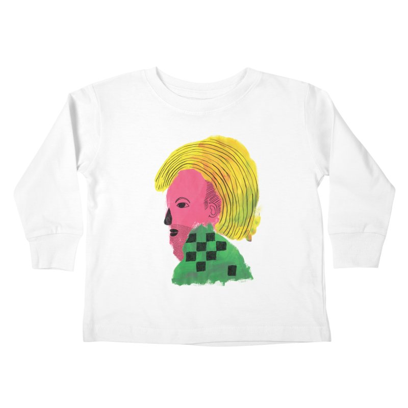 Blonde Ambition Kids Toddler Longsleeve T-Shirt by anabenaroya's Artist Shop