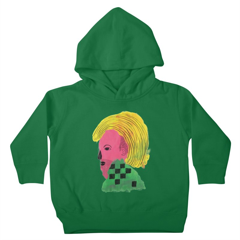 Blonde Ambition Kids Toddler Pullover Hoody by anabenaroya's Artist Shop