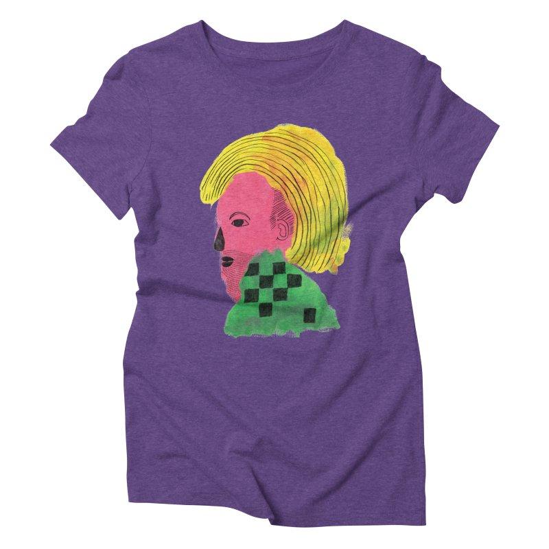 Blonde Ambition Women's Triblend T-shirt by anabenaroya's Artist Shop