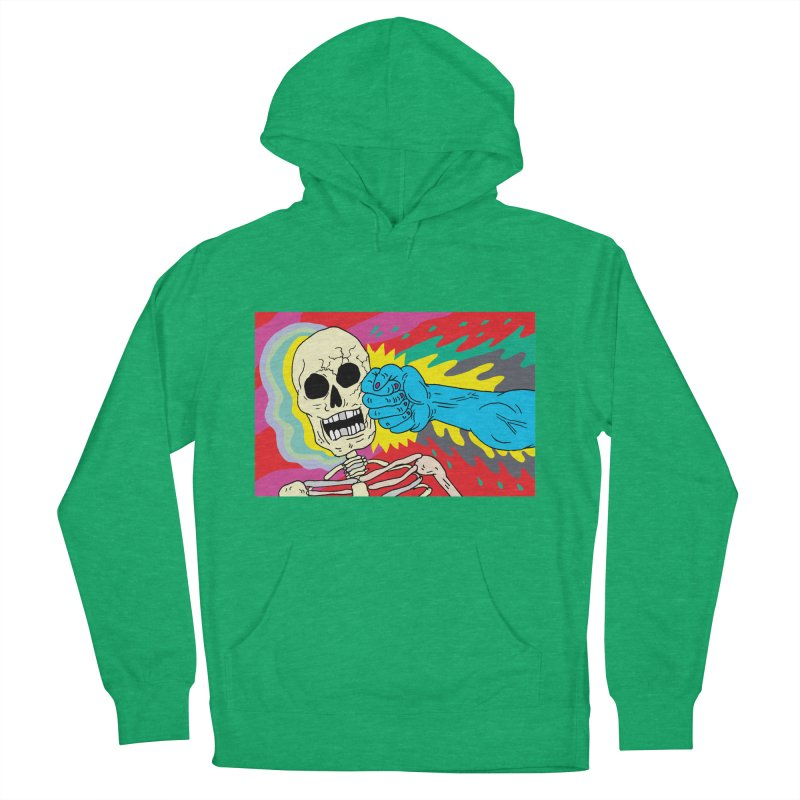 Punching Death Women's Pullover Hoody by anabenaroya's Artist Shop