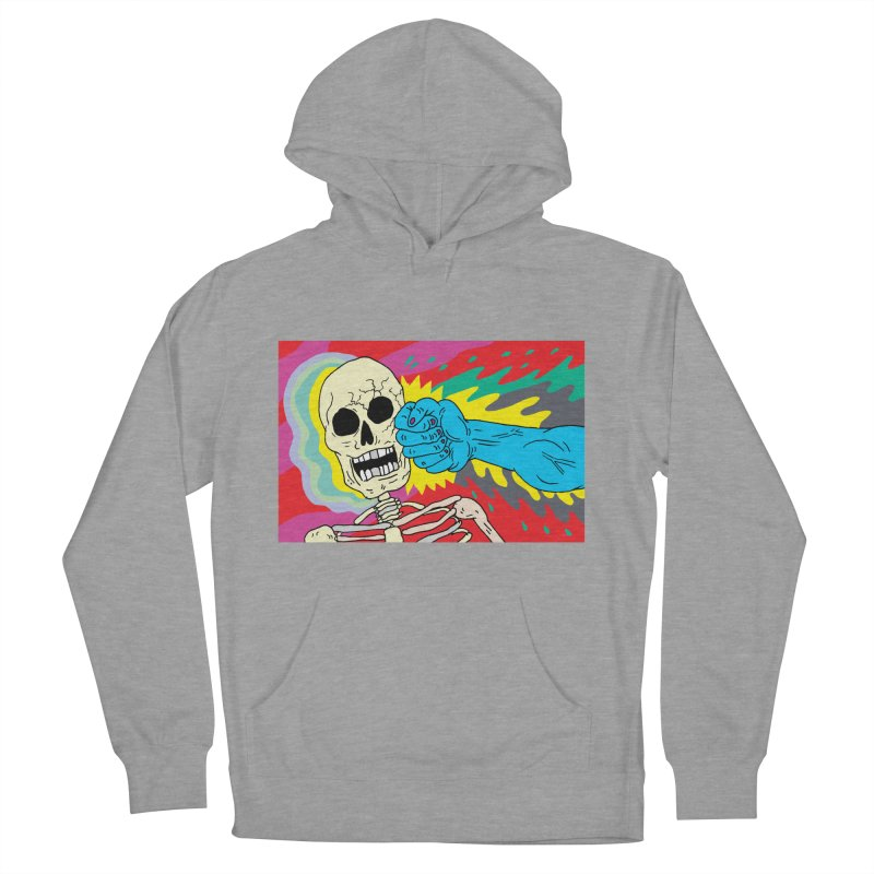 Punching Death Men's Pullover Hoody by anabenaroya's Artist Shop