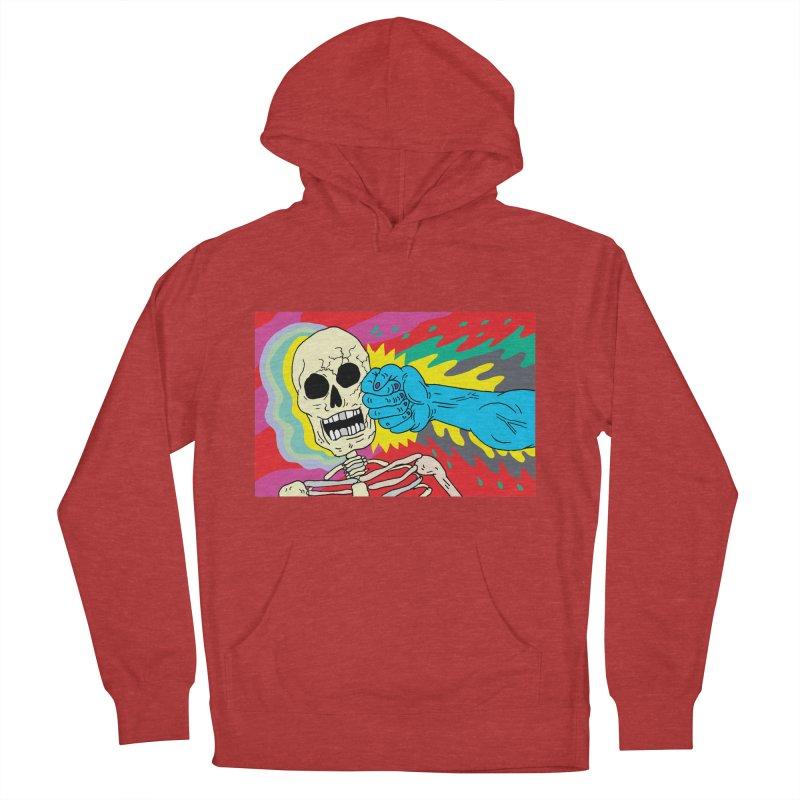 Punching Death Men's Pullover Hoody by anabenaroya's Artist Shop