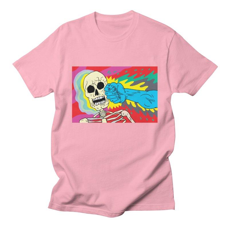 Punching Death Men's T-Shirt by anabenaroya's Artist Shop