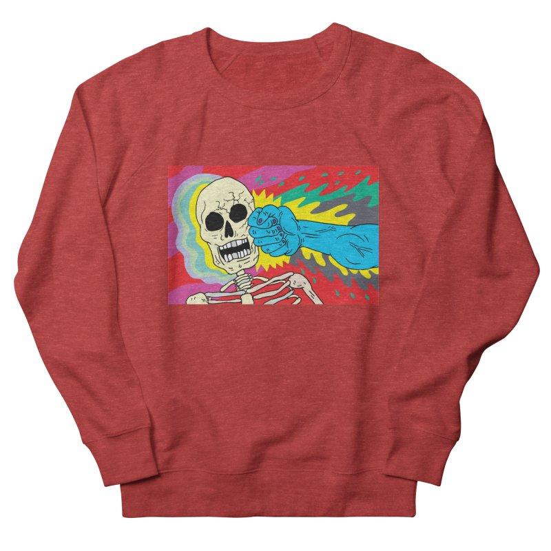 Punching Death Women's Sweatshirt by anabenaroya's Artist Shop