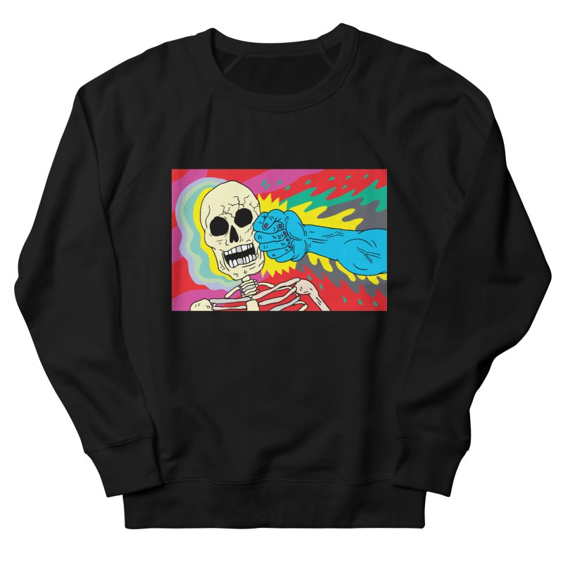 Punching Death Men's Sweatshirt by anabenaroya's Artist Shop