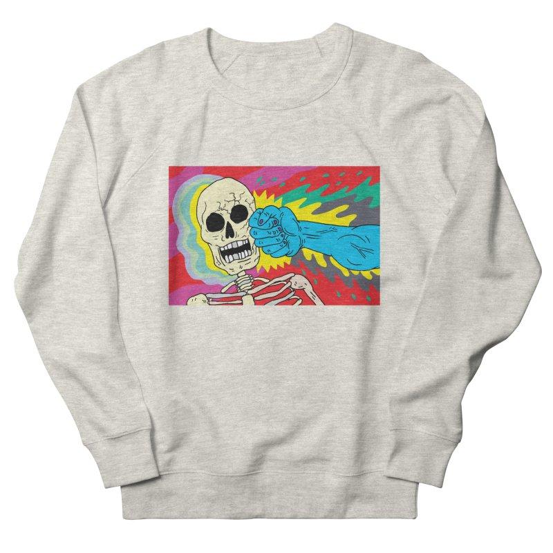 Punching Death Men's Sweatshirt by anabenaroya's Artist Shop