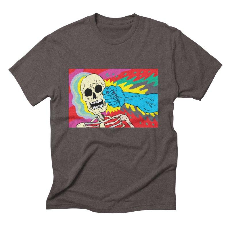 Punching Death Men's Triblend T-Shirt by anabenaroya's Artist Shop