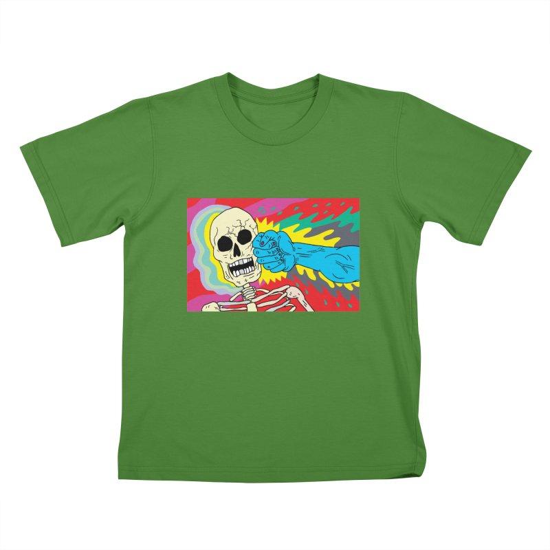 Punching Death Kids T-Shirt by anabenaroya's Artist Shop