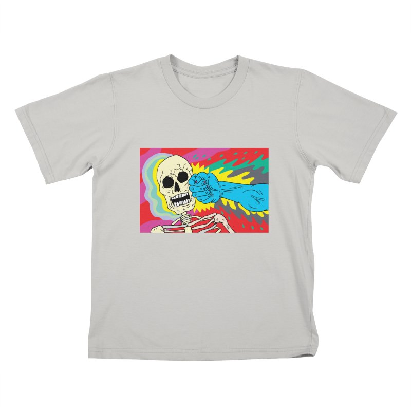 Punching Death Kids T-shirt by anabenaroya's Artist Shop