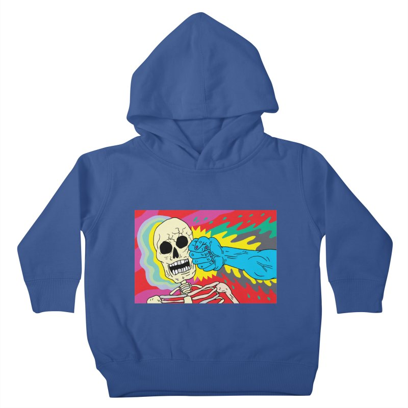 Punching Death Kids Toddler Pullover Hoody by anabenaroya's Artist Shop