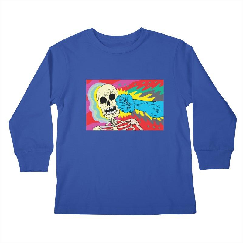 Punching Death Kids Longsleeve T-Shirt by anabenaroya's Artist Shop