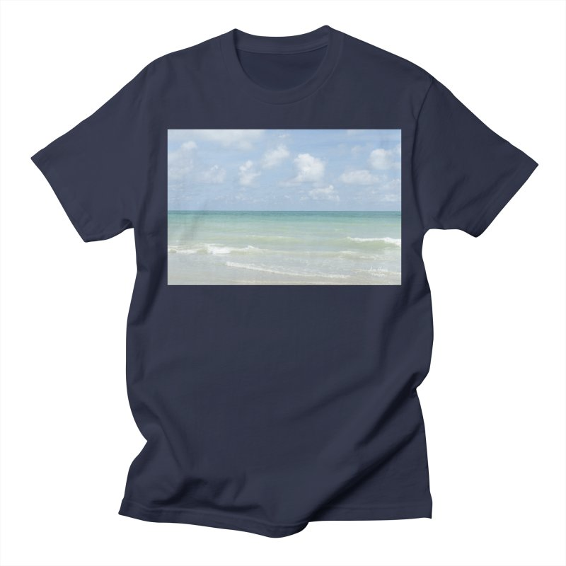 Gorgeous Day on the Beach Men's T-Shirt by Ana Garcia Photography Shop
