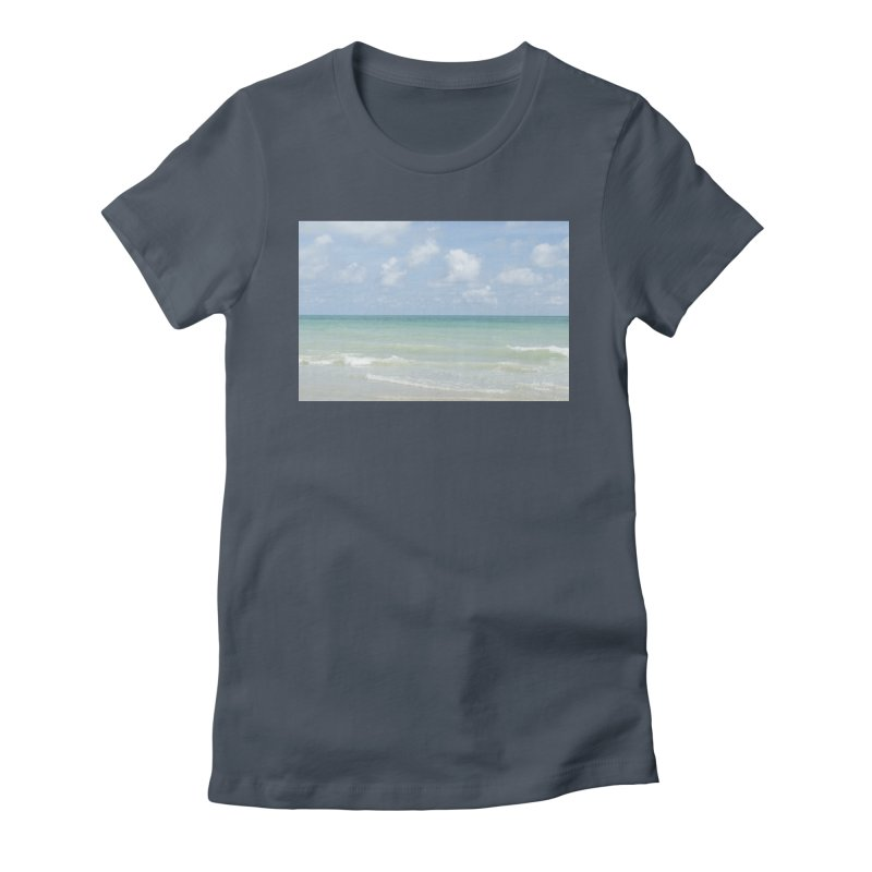 Gorgeous Day on the Beach Women's T-Shirt by Ana Garcia Photography Shop