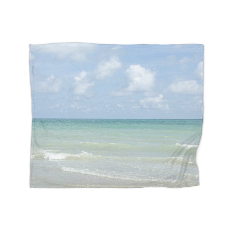 Gorgeous Day on the Beach Home Blanket by Ana Garcia Photography Shop