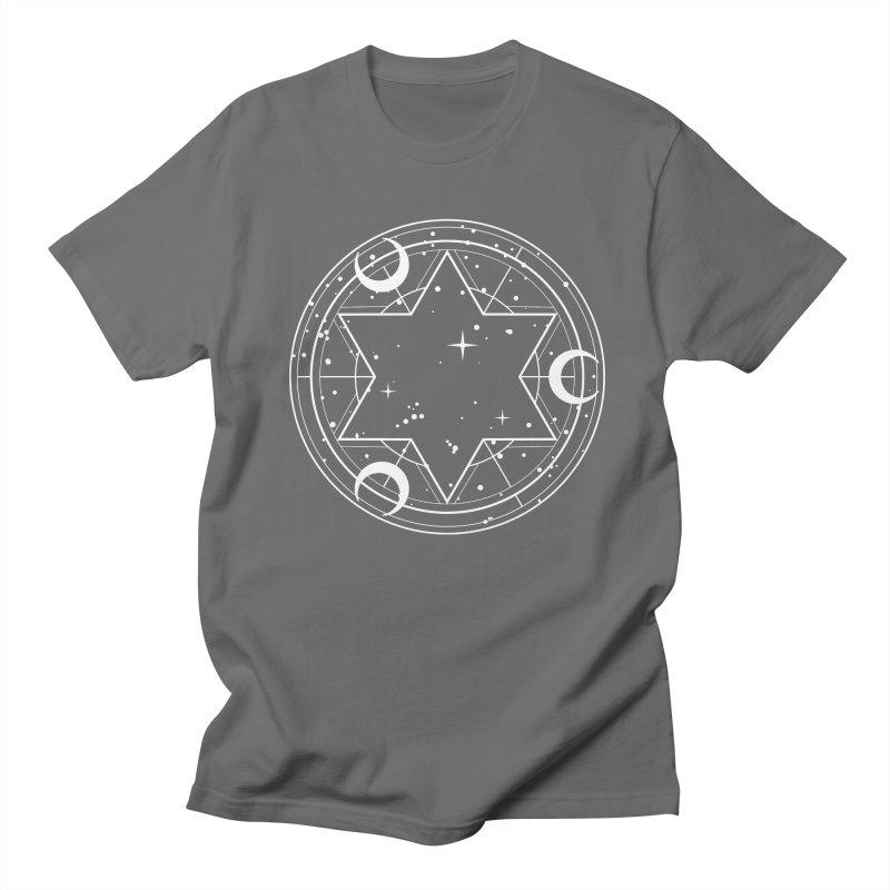 Three moons spell Men's T-Shirt by Anaïs Faë