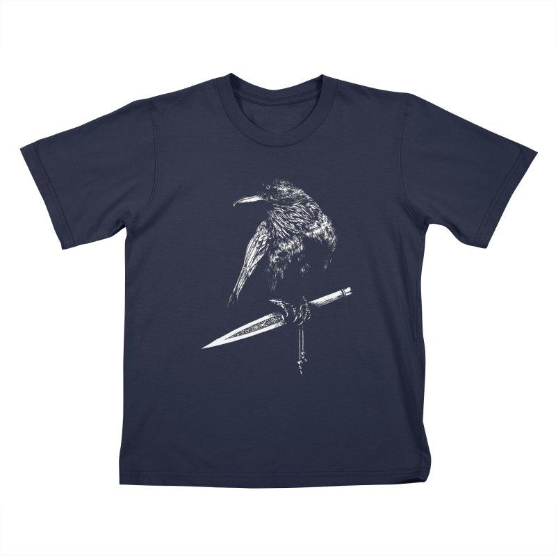 Nightbringer Kids T-Shirt by Anaïs Faë