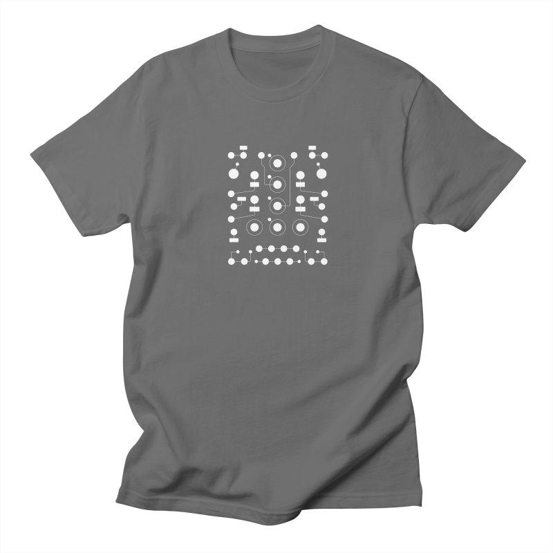 Grayscale Maths Men's T-shirt by Grayscale