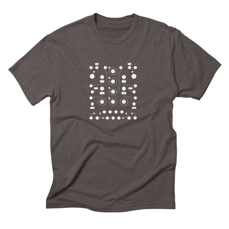 Grayscale Maths Men's Triblend T-shirt by Grayscale