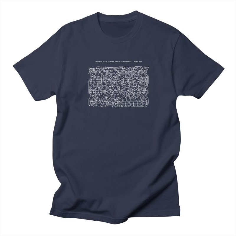 259 PCB (white) Men's T-shirt by Grayscale