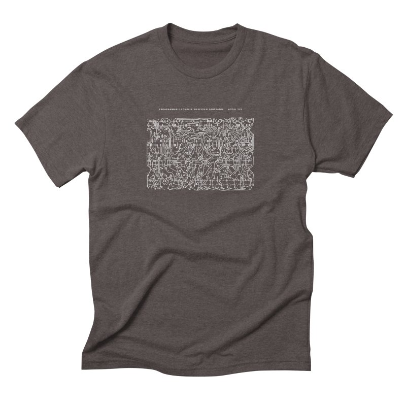 259 PCB in Men's Triblend T-shirt Tri-Coffee by Grayscale