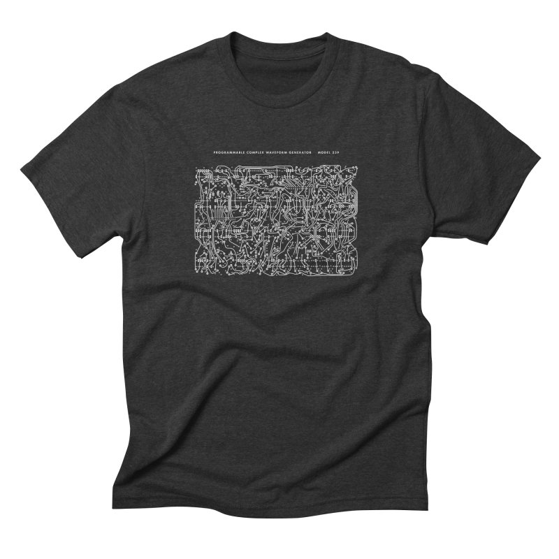 259 PCB Men's Triblend T-shirt by Grayscale