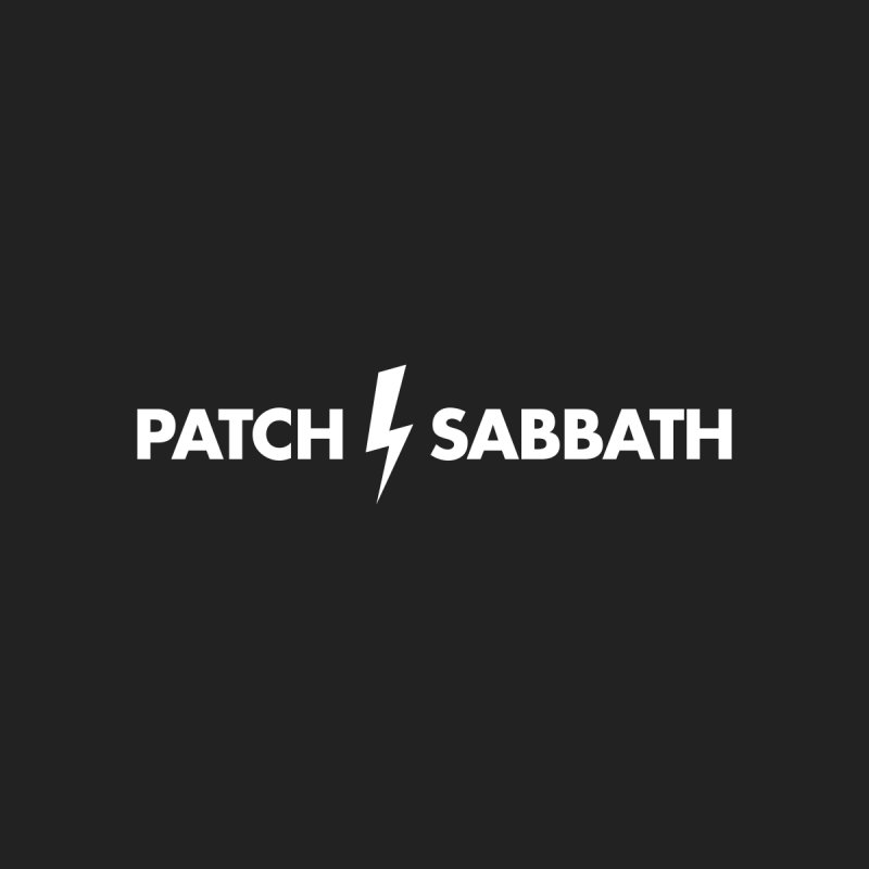 Patch Sabbath Men's Triblend T-shirt by Grayscale