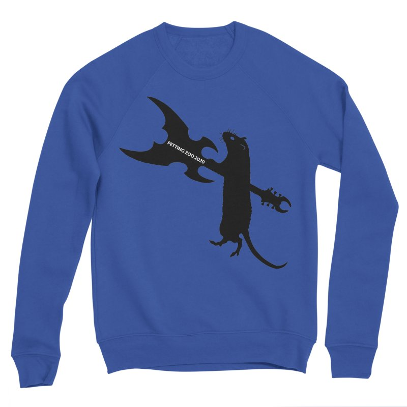 Petting Zoo 2020 Metal Rat 1 Men's Sweatshirt by Anapalana by Tona Williams Artist Shop