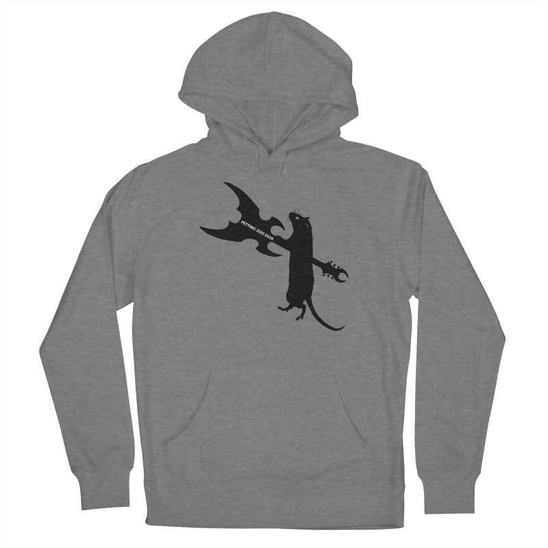 Petting Zoo 2020 Metal Rat 1 Women's Pullover Hoody by Anapalana by Tona Williams Artist Shop