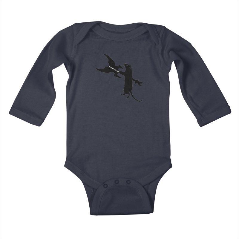 Petting Zoo 2020 Metal Rat 1 Kids Baby Longsleeve Bodysuit by Anapalana by Tona Williams Artist Shop