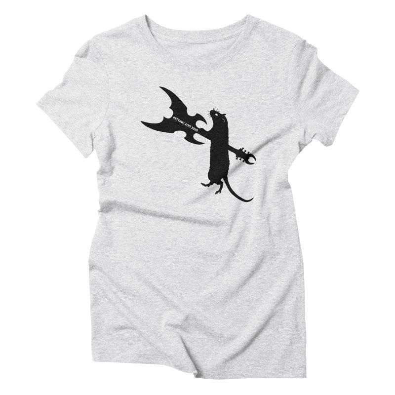 Petting Zoo 2020 Metal Rat 1 Women's T-Shirt by Anapalana by Tona Williams Artist Shop