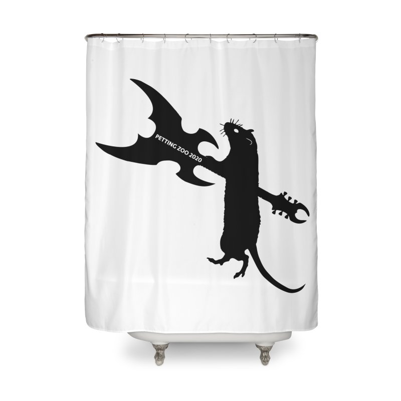 Petting Zoo 2020 Metal Rat 1 Home Shower Curtain by Anapalana by Tona Williams Artist Shop