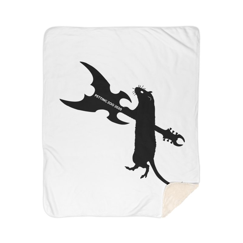 Petting Zoo 2020 Metal Rat 1 Home Blanket by Anapalana by Tona Williams Artist Shop