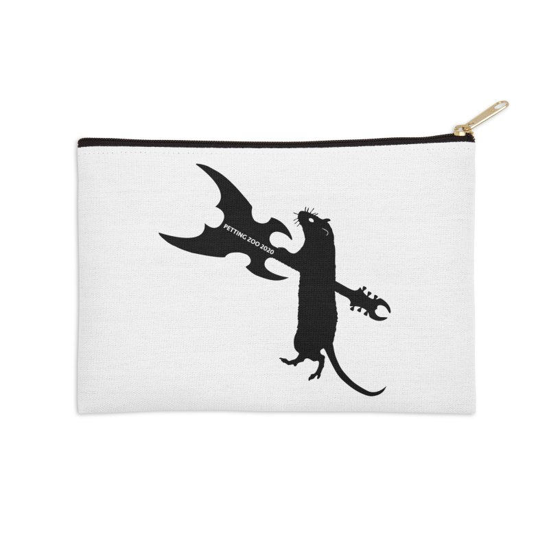 Petting Zoo 2020 Metal Rat 1 Accessories Zip Pouch by Anapalana by Tona Williams Artist Shop