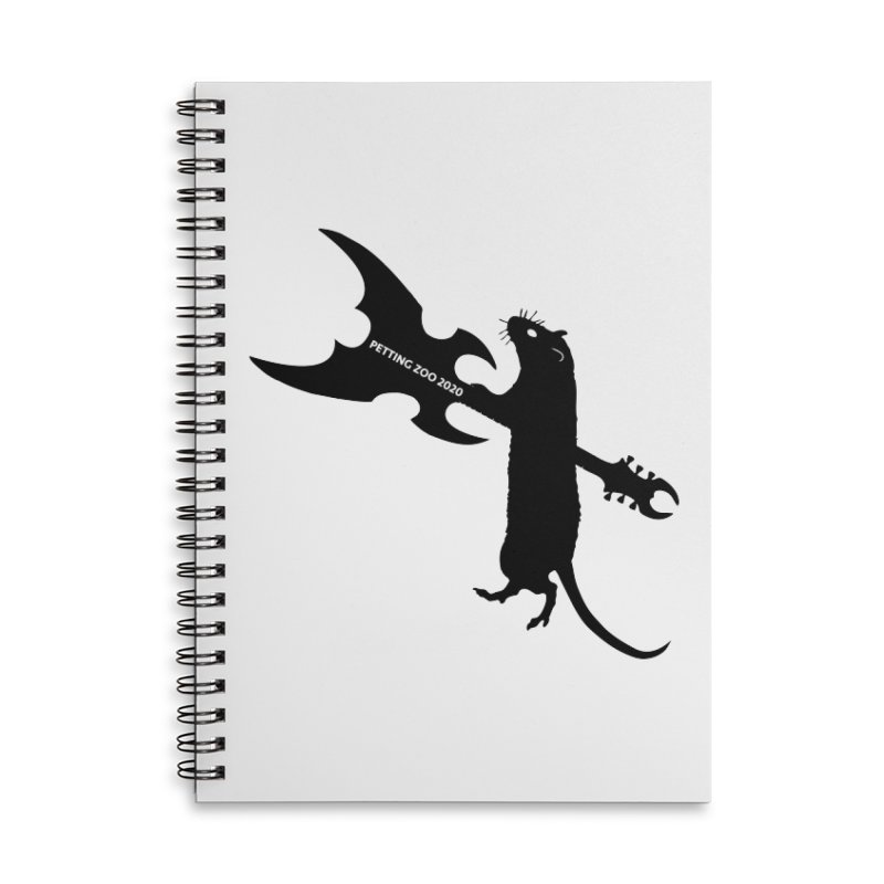 Petting Zoo 2020 Metal Rat 1 Accessories Notebook by Anapalana by Tona Williams Artist Shop